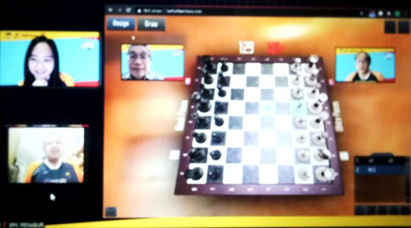 1.054 Peserta Ramaikan Penabur Online Chess Festival 2.020