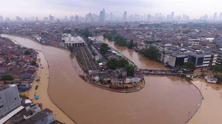 Ahli SDA UI: Sungai di Jakarta Sudah Waktunya Dinormalisasi Serentak