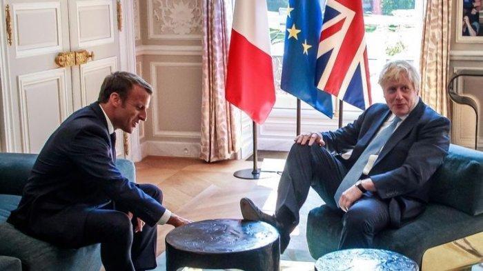 PM Inggris dan Presiden Prancis menentang Liga Super Eropa