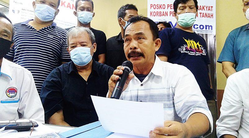 Tanah Dirampas, Warga Muara Enim Layangkan Surat Terbuka untuk Jokowi